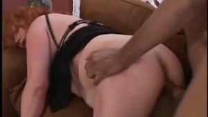 Redhead MILF fucks young black stud - Gentlemens Video