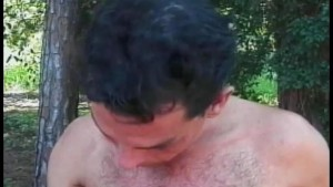 Well Hung Tranny Fucks in Woods - Gentlemens Video
