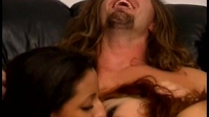 2 tight babes share a cock - Lord Perious