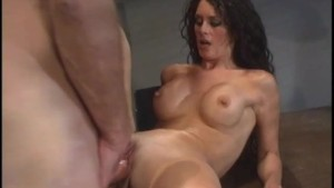Brunette Sucks and Fucks Hard