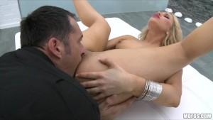 Hot Blonde euro pornstar Alesk