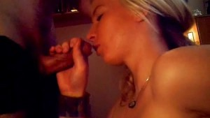 Busty blonde sex and facial