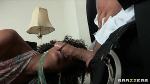 Hot ebony nympho seeks sex doctor for help yet sh