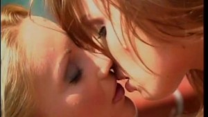 Beautiful blonde and brunette go at it - Future Works