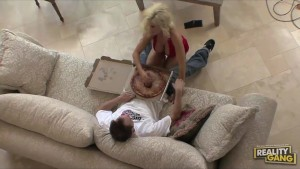 Big Tit Blond MILF PS Diamond Foxxx fucks her Big Sausage Special