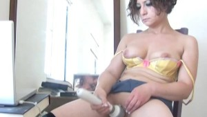 Anne solo webcam show