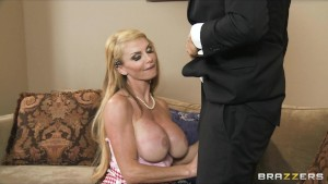 Big-tit blonde MILF fucks judge at the annual cupcake competition