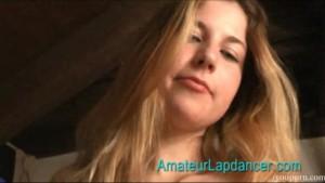 Teen Zdenka does lapdance and BJ in bedroom