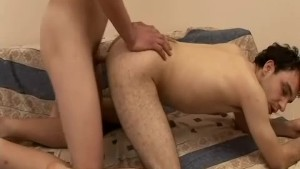 Curly Hair Gay Cum Swap