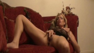 MILF On The Couch