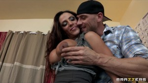 Sexy Latina mom Ariella Ferrera fucks college student in his dorm