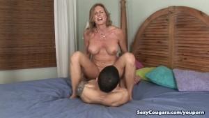 Horny Cougar Jade Fucks Her Pe
