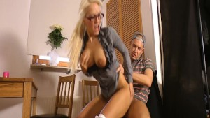 Bareback detention with horny teacher - german