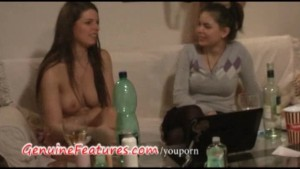 Czech brunette Monika gets hot