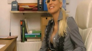 Hard fuck with horny teacher - german