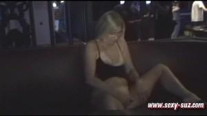 Sexy Suz Masturbating in Publi