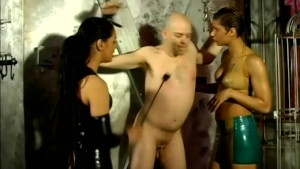 Man Dominated By Two Mistresses