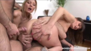 Xenia Betty Double anal Group