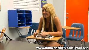 InnocentHigh Bigtits blonde sc