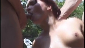 Summer day gangbang - Pure Filth Productions