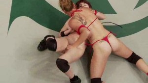Hot Lesbian Tag Team Wrestling
