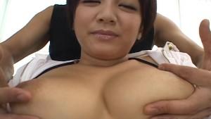 Cute Meguru Kosaka big tits ac