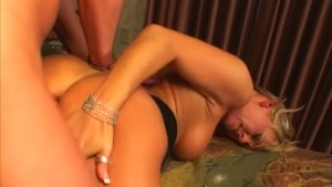 Dirty Blonde Loves Her Ass Fucked - Anarchy