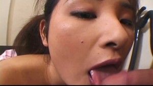 Horny Asian maid hottie Yui Tokui pussy dripping