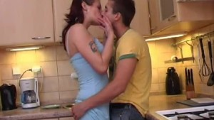 Young amateur couple homemade