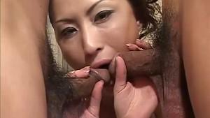 Asian babe Kei gives amzing do