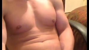 Sexy Muscle Boy Jerking Off