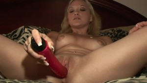 Hot Blonde milf picked up and
