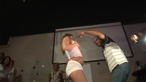 Wet Tshirt Contest At The Club - DreamGirls