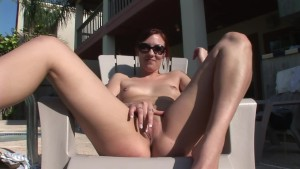 Amateuer Showing Her Pussy By The Pool - DreamGirls