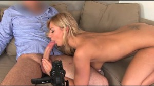 FakeAgent Smoking hot babe takes creampie in casting