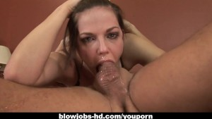 Hot chick wildest blowjob in history right here