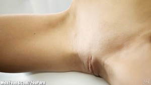 WebYoung Tiny Teen Gina Teasing and Touching Herself For You