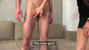 FemaleAgent  Czech Gigolo Tests His Skills