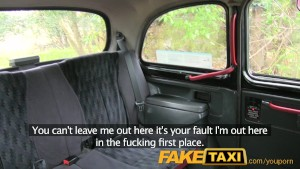 FakeTaxi I cum in her ass in the back of my taxi