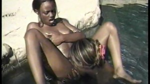 Lesbian Babes By The Pool - CDI