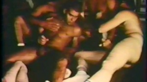 Gay Retro Gangbang - The French Connection