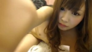 self shot chinese teen homemade gets pussy cumshot