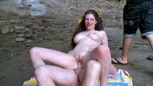 Hot Teen Babe Fucked In Cave -