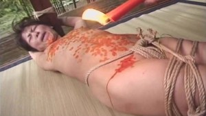 asian bondage japanese hot wax