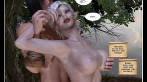3D Comic: Bonan - The Princess