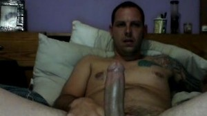 Long stroke session with fat cock