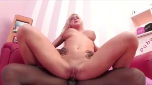 Leya Falcon and giant black cock