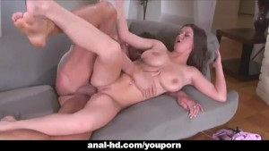 Horny babe with big tits gets