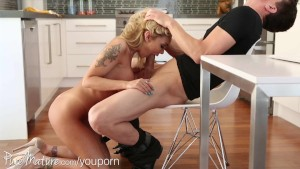 PureMature milf pounded in kitchen