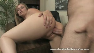 Hot Slut Fucks Old Boss To Sec